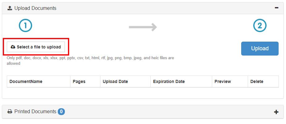 file upload snippet