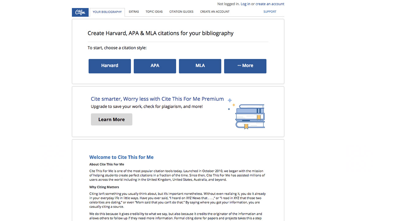 Free Citation Generators Cite Mla Apa And More In A Few Clicks