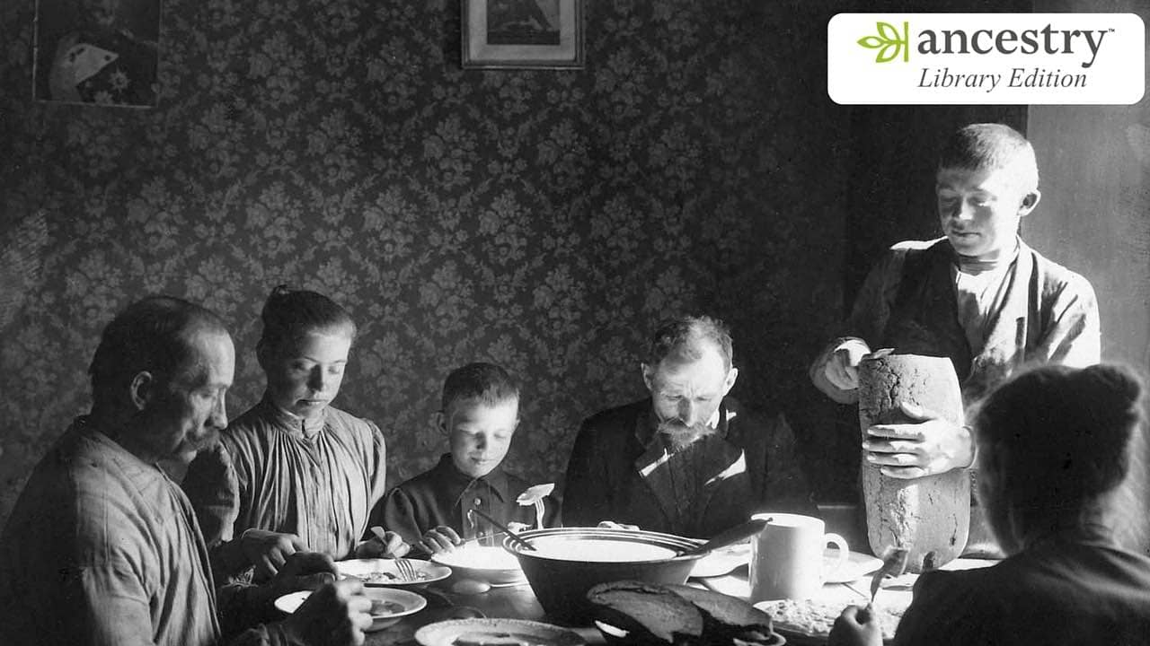 AncestryLibrary – Access Genealogical Records of Billions