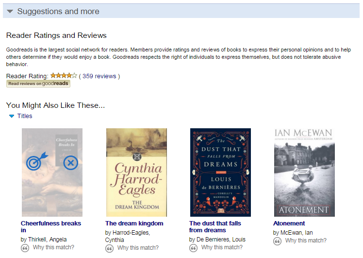 Goodreads – Perfect Book Recommendations
