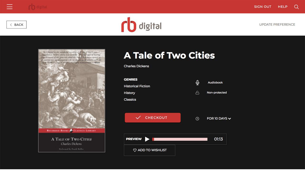 RBdigital – eBooks, Audiobooks, Magazines, and More