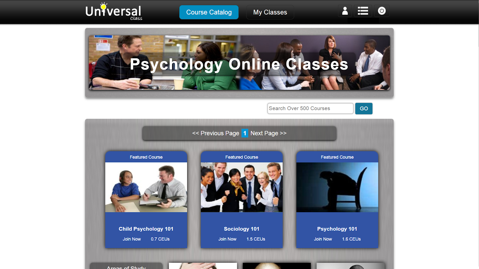 screenshot online classes