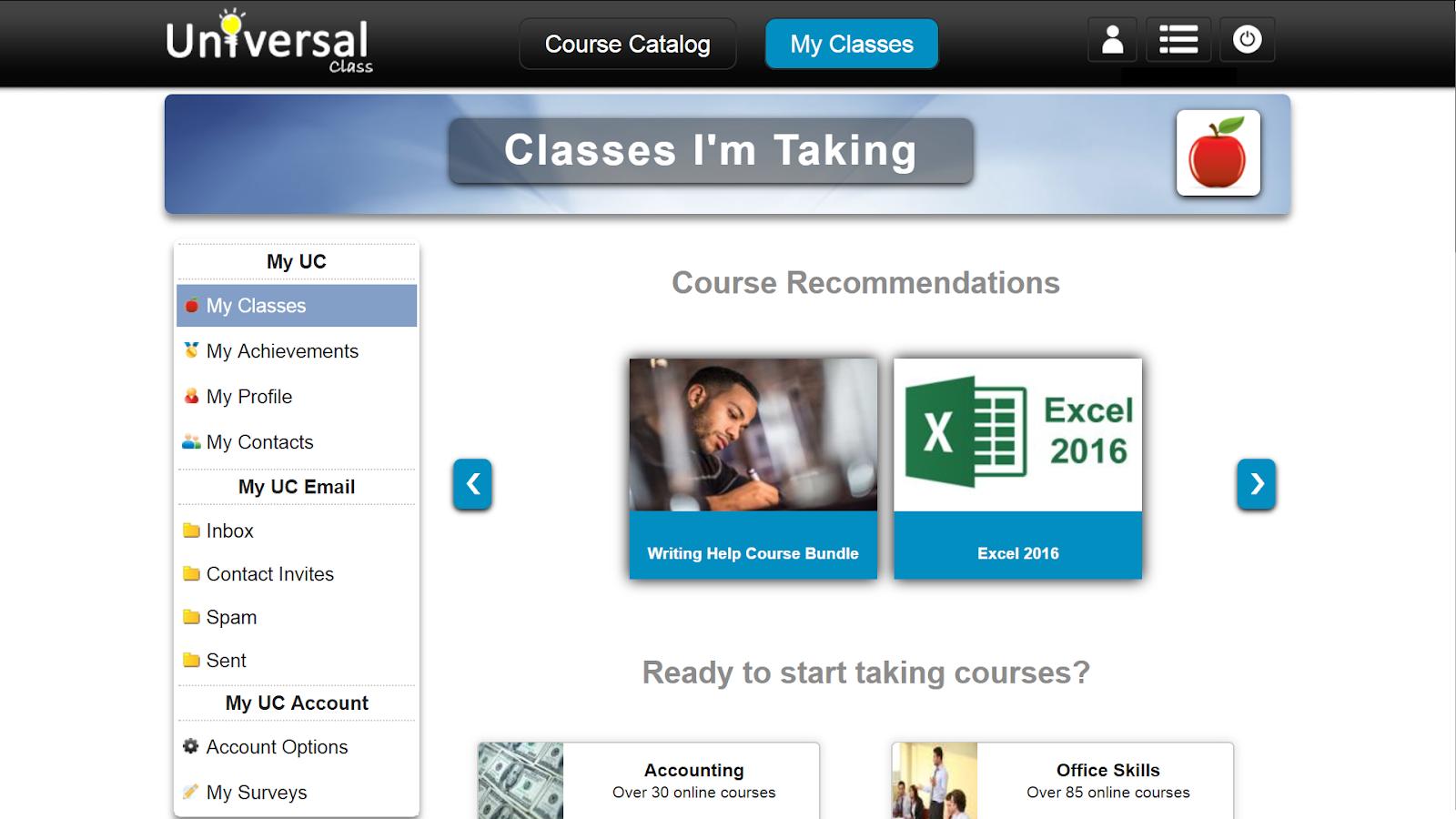 screenshot my classes