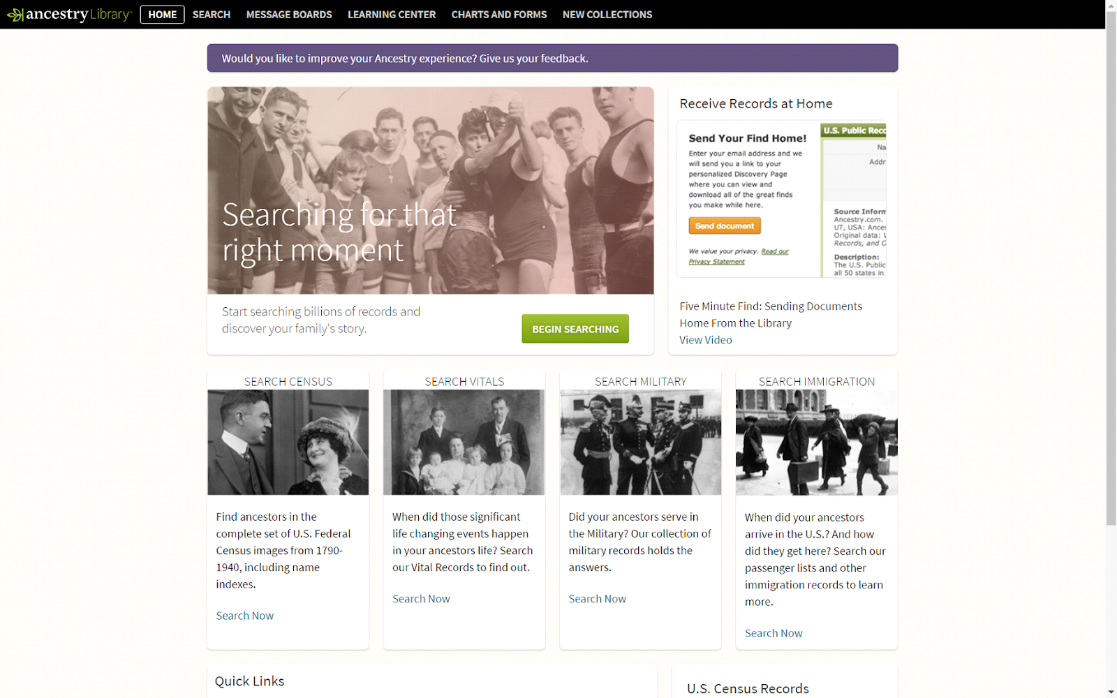 Ancestry Library Edition – Access Genealogical Records of